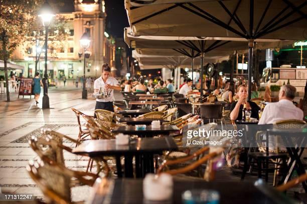 cafe, belgrade  - serbia - belgrade stock pictures, royalty-free photos & images