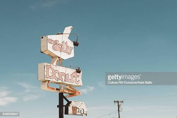 Cafe, enroute to Joshua Tree National Park, California, USA
