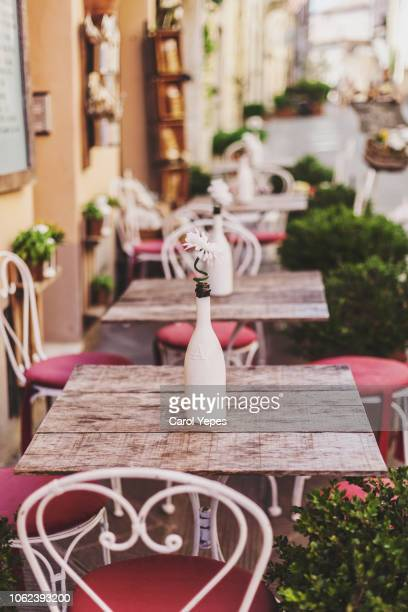 cafe exterior - st tropez stock pictures, royalty-free photos & images