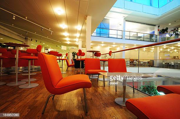 Cafe in office building