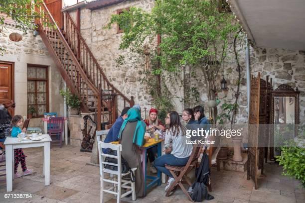 A cafe in old town Antakya, Hatay, southeastern Turkey