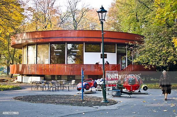 Cafe in the Park Jordana, Cracow, Poland