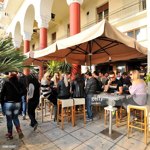 Café in Thessaloníki, Griechenland