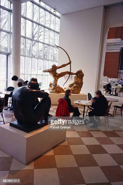Cafe Inside Metropolitan Museum of Art
