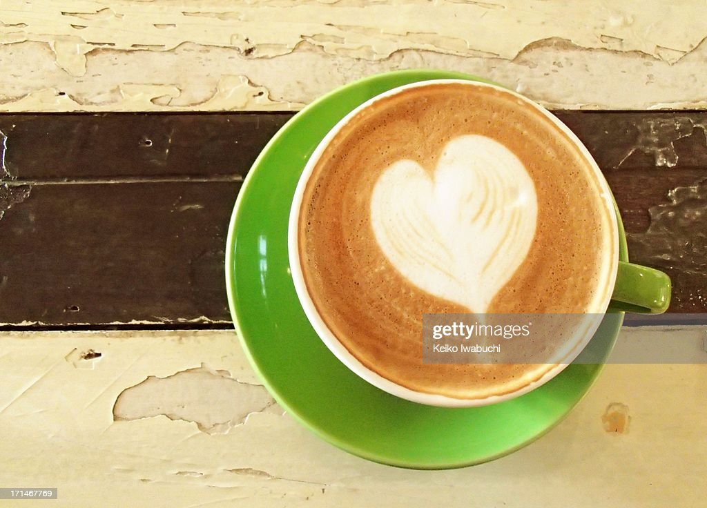 cafe latte : Stock Photo