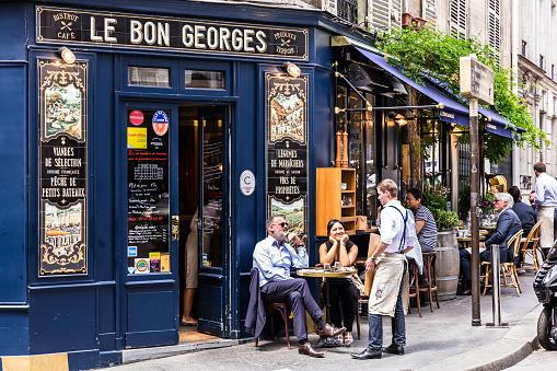 Cafe Le Bon Georges. Paris, France 1044154134