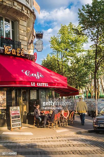 café le castel - france castel photos et images de collection