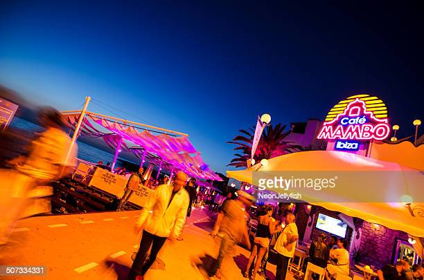 cafe mambo - ibiza island stock pictures, royalty-free photos & images