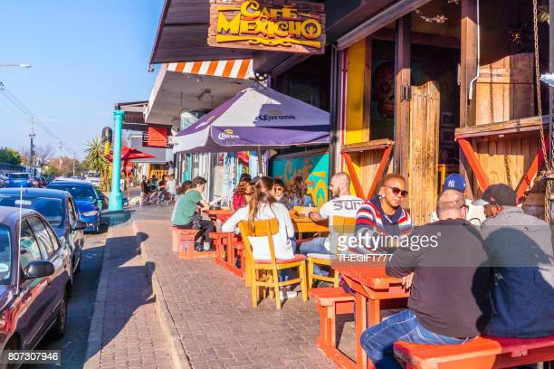 cafe mexicho in melville, johannesburg - johannesburg stock pictures, royalty-free photos & images