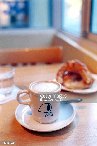 Cafe of the mothers of plaza De Mayo in Buenos Aires Argentina on June 22 1999