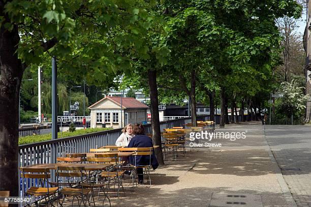Cafe on JudenStrasse
