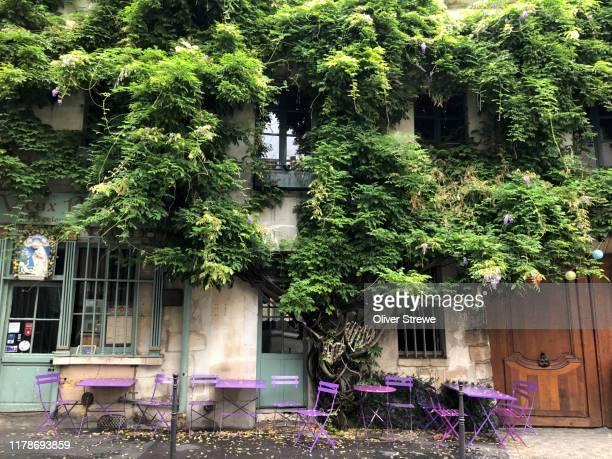 cafe paris - paris stock pictures, royalty-free photos & images