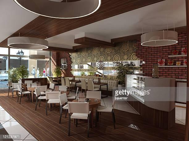 """cafe Restaurant """",Café restaurante"""""""