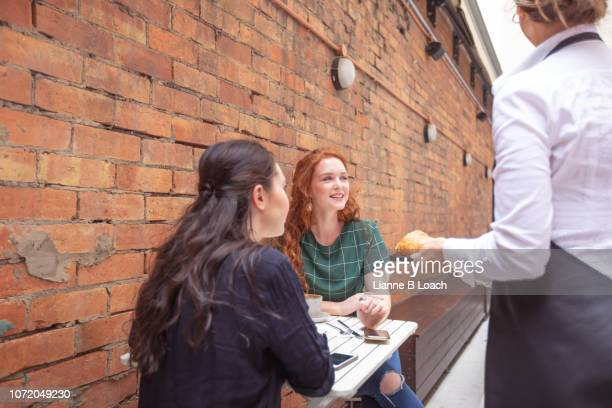 cafe stop - lianne loach stock pictures, royalty-free photos & images