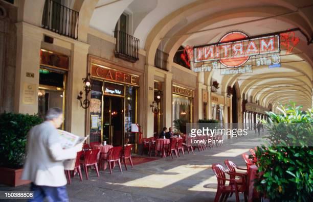 Cafe Torino, Piazza San Carlo 204.