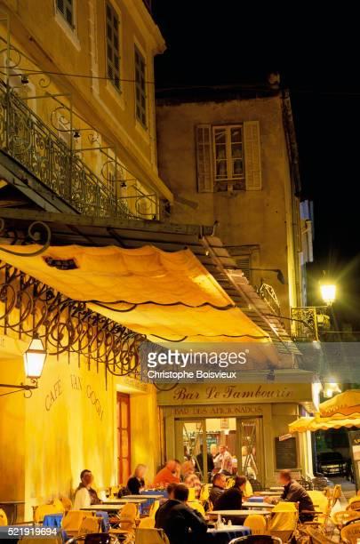 Cafe Van Gogh at Night