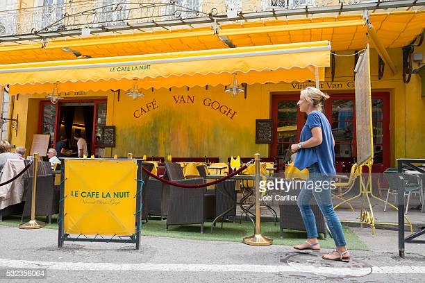 Cafe Van Gogh in Arles, France
