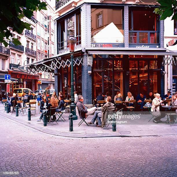 Cafe-Bar near Saint-Gery marketplace