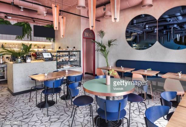 cafe-cookery in moscow - erschwinglich stock-fotos und bilder