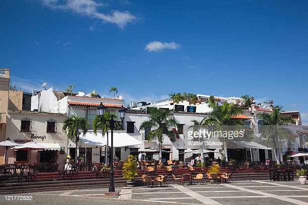 Cafes, Plaza Espana, Santo Domingo, Dominican Republic