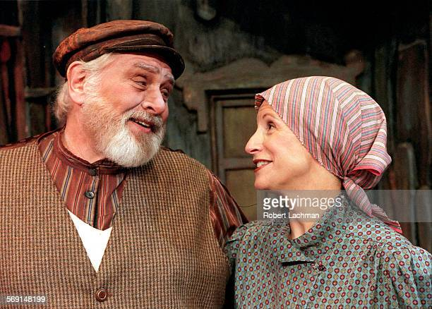 CAFiddlerLookRDL–– From the play Fiddler on the Roof at the La Mirada Theatre for the Performing Arts in La Mirada Gary Gordon as Teveye and Marcie...