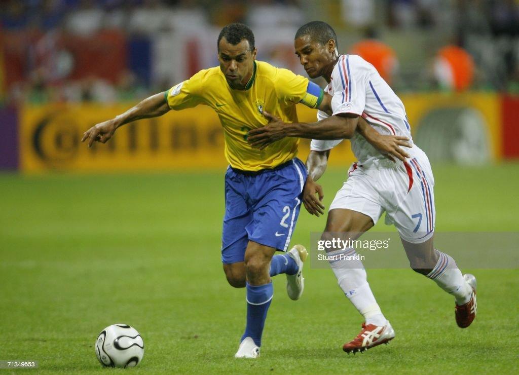 Quarter-final Match Brazil v France - World Cup 2006