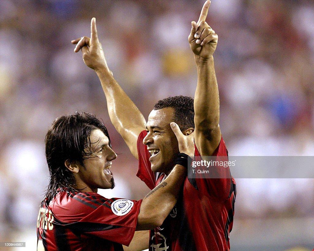 Soccer - Pre Season Friendly - Chelsea v AC Milan - August 2, 2004