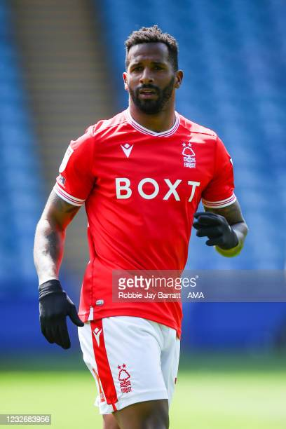 Cafu of Nottingham Forest uring the Sky Bet Championship match between Sheffield Wednesday and Nottingham Forest at Hillsborough Stadium on May 1,...