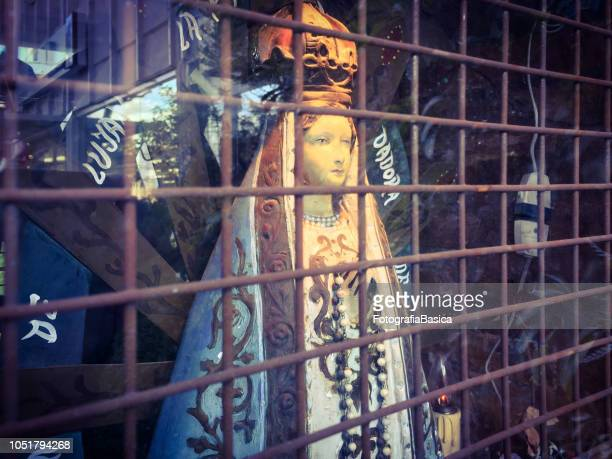Caged Virgin Mary