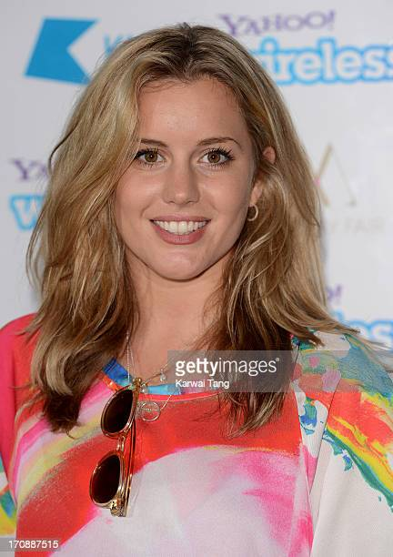 Caggie Dunlop attends the Yahoo Wireless preparty at The Mayfair Hotel on June 19 2013 in London England
