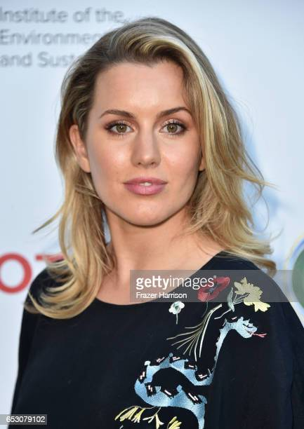 Caggie Dunlop attends UCLA Institute of the Environment and Sustainability celebrates Innovators For A Healthy Planet at a private residence on March...
