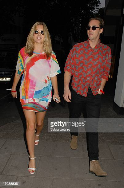 Caggie Dunlop sighting at May Fair Hotel on June 19 2013 in London England