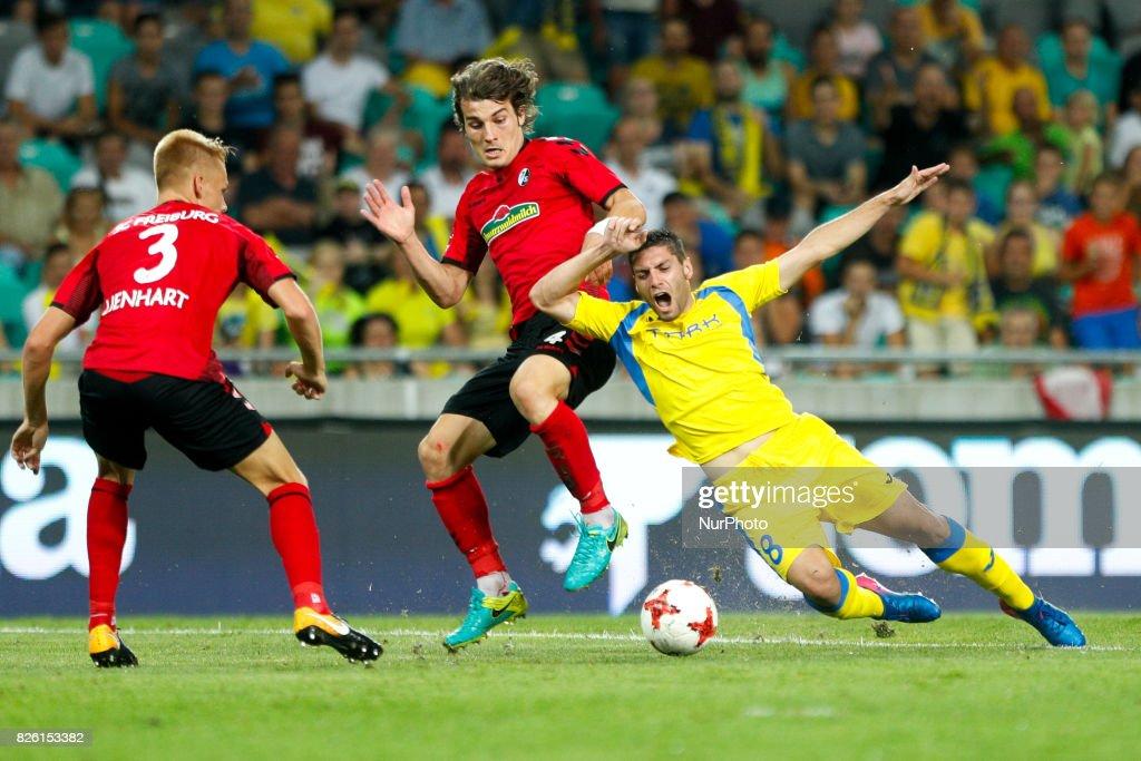 NK Domzale v SC Freiburg - UEFA Europa League Third Qualifying Round: Second Leg