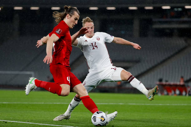TUR: Turkey v Latvia - FIFA World Cup 2022 Qatar Qualifier