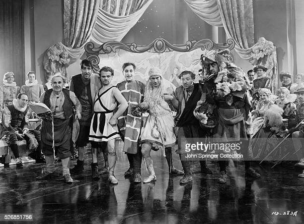 Cagney as Bottom in the play within a play Also pictured are Joe E Brown and Hugh Herbert