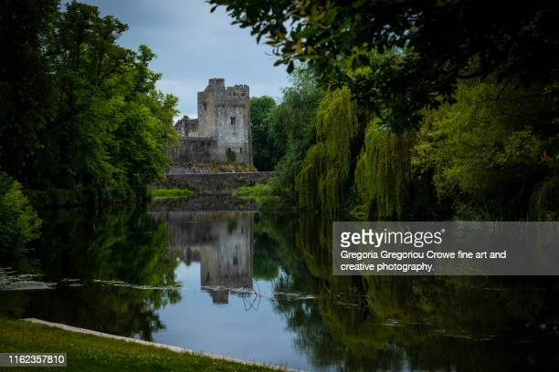 cahir castle view - gregoria gregoriou crowe fine art and creative photography stock pictures, royalty-free photos & images