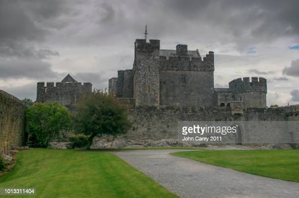Cahir Castle with a Moody Sky in the Background, Cahir, Co Tipperary, Ireland