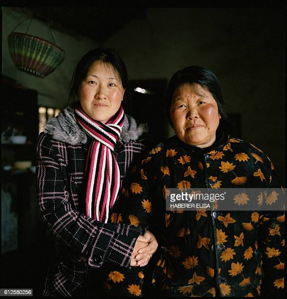 Cai Xingju and her mother Qiao Ying The old woman has never left her village Despite her daughter's fear she advised her to follow her young husband...