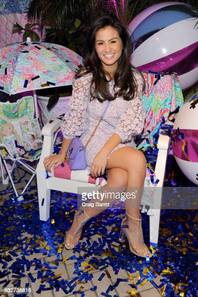 Caila Quinn attends the Launch Celebration of the Pottery Barn Pottery Barn Kids PBteen and Lilly Pulitzer Exclusive Collection on March 15 2018 in...