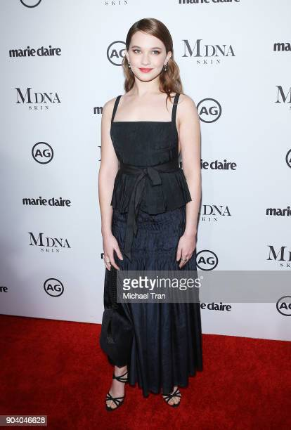 Cailee Spaeny arrives to the Marie Claire's Image Maker Awards 2018 held at Delilah on January 11 2018 in West Hollywood California