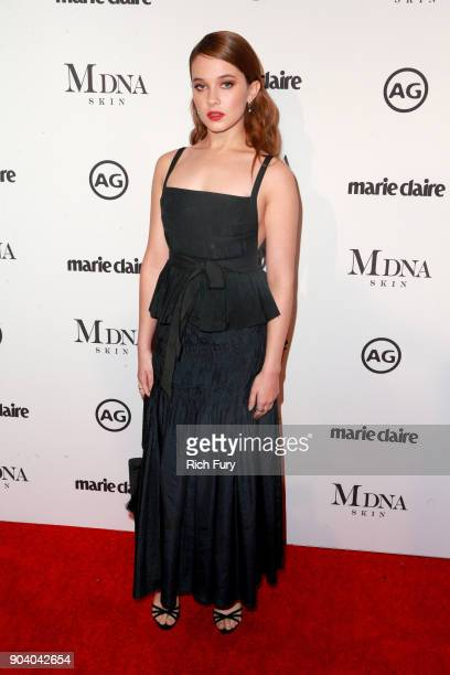 Cailee Spaeny attends the Marie Claire's Image Makers Awards 2018 on January 11 2018 in West Hollywood California