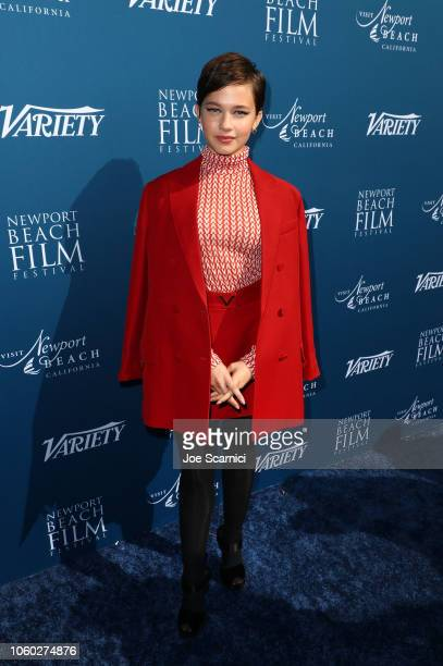 Cailee Spaeny attends the Newport Beach Film Festival Fall Honors and Variety's 10 Actors To Watch at The Resort at Pelican Hill on November 11 2018...