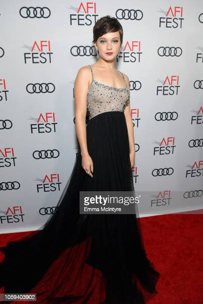 Cailee Spaeny attends the Opening Night World Premiere Gala Screening of On The Basis Of Sex at AFI FEST 2018 Presented By Audi at TCL Chinese...