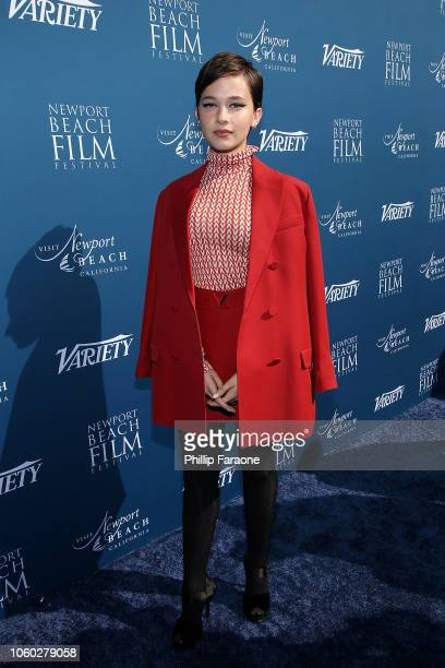 Cailee Spaeny attends Variety 10 actors to watch and Newport Beach Film Festival Fall Honors at The Resort at Pelican Hill on November 11 2018 in...