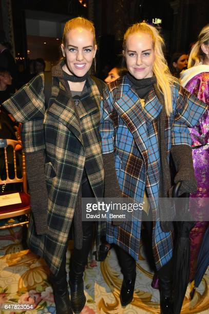Cailli Beckerman and Sam Beckerman attend Andreas Kronthaler for Vivienne Westwood show as part of the Paris Fashion Week Womenswear Fall/Winter...