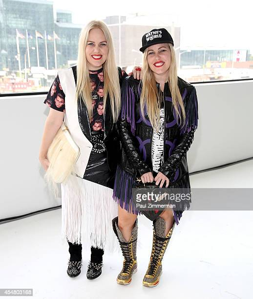 Cailli Beckerman and Sam Beckerman attend Jill Stuart fashion show during MercedesBenz Fashion Week Spring 2015 at Location05 on September 6 2014 in...