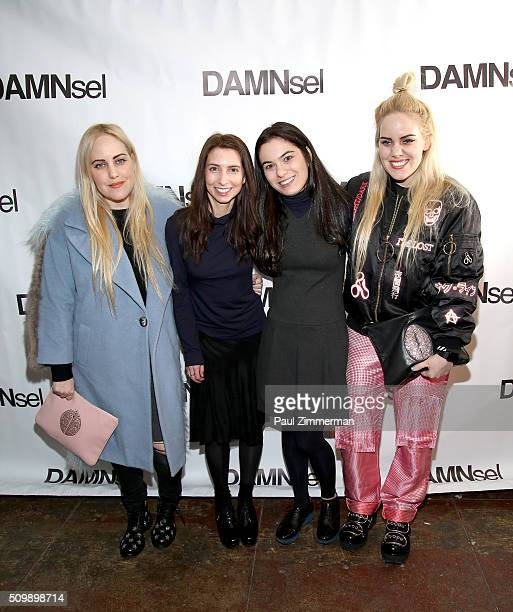 Cailli Beckerman Breanne HarrisonPollok Rachel Feinberg and Sam Beckerman attend the Presentation Fall 2016 New York Fashion Week at Openhouse...