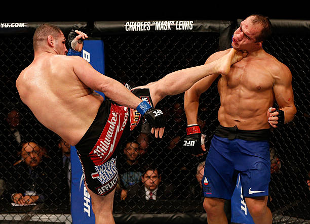 UFC 155: Dos Santos V Velasquez 2 Wall Art