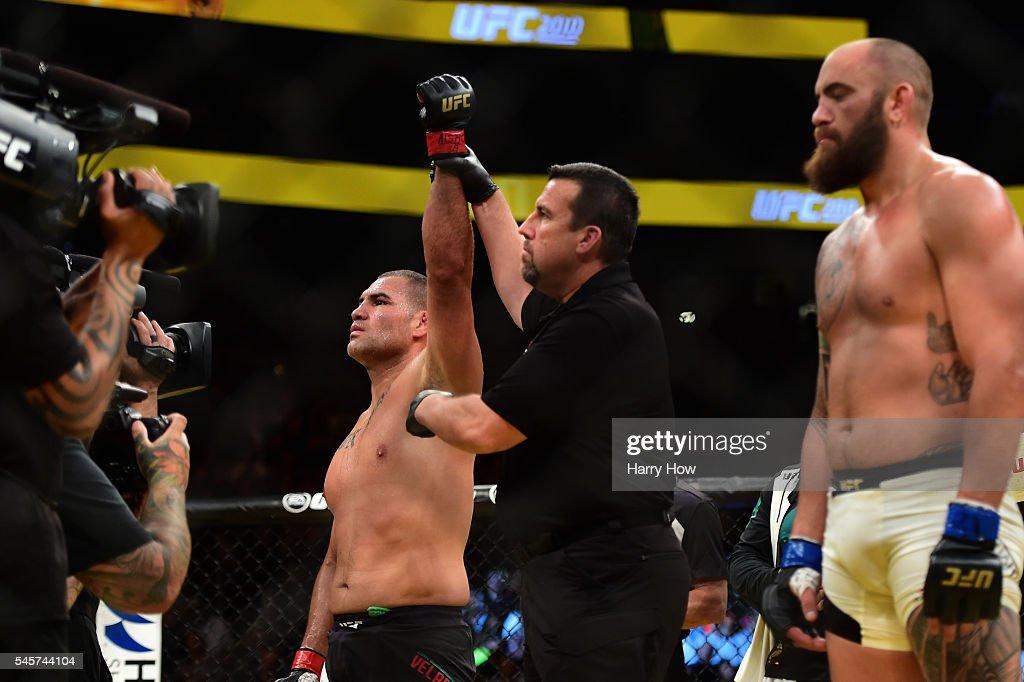 UFC 200: Velasquez v Browne : News Photo