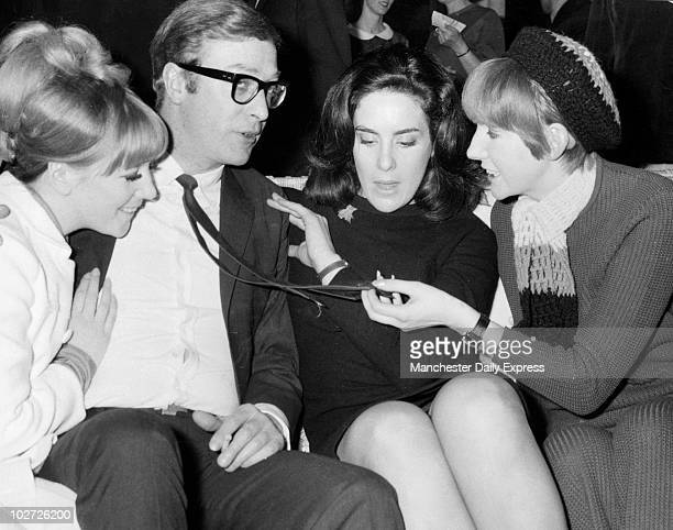 Caine with Julie foster Eleanor Bron and Cilla Black May 1967 A star among the stars Caine with Julie foster Eleanor Bron and Cilla Black May 1967